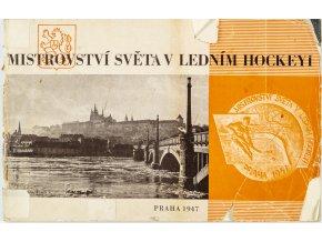 Brožura , Mistrovství světa v ledním Hockeyi, 1947 II