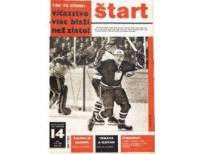 Časopis ŠTART, ročník XII, 3 IV. 1967, číslo 14