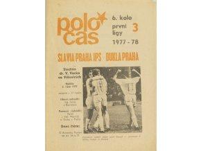 Poločas Slavia Praha vs. Dukla Praha, 19771978
