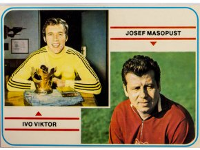 Kartička Ivo Viktor, Josef Masopust, G (1)