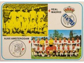 Kartička Ajax Ansterodam, Real Madrid, G (1)