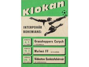 Klokan, Interpohár Bohemians, 1987