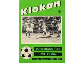 Program Klokan, S Bohemians vs. ZVL Žilina, 198788