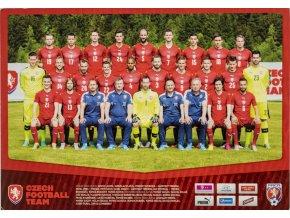 Plakát, malý formát, Czech football (jedná se o kopanou) team