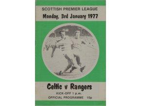 Program Celtic v. Rangers, 1977