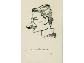 Pohlednice momentka ze schůze VII. sletu, BR. DR. Fleischman, 1920 (1)