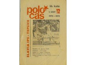Program Poločas, Slavia IPS vs. Teplice, 197879