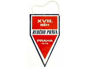 Vlajka Běh Rudého práva, 1972 (1)