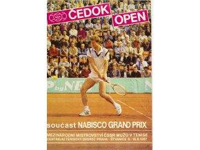 Program tennis Čedok open, 1987