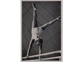 Kartička Olympia 1936, Berlin. Kathe Sohnemann 1
