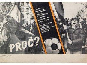 Plakát , český film, Proč II