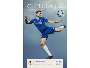 Program Europa League Chelsea FC v. SK Slavia Praha, 2019 (1)
