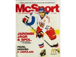 Magazín McSport, české hvězdy ZOH Vancouver, 2010