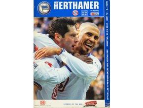Program , Herthander, Herta BSC v. Bayern Munchen, 2006 2007