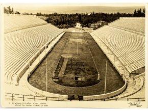 Pohlednice stadión, Athens, Stadium, 1958 (1)