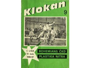 Program Klokan, Bohememians ČKD v. Plastika Nitra, 198687