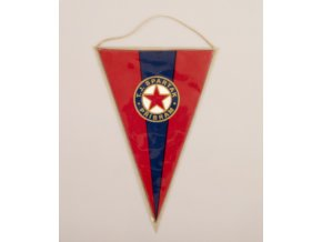 Klubová vlajka T.J. SPARTAK PŘÍBRAM