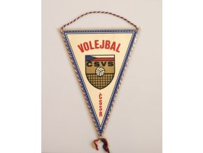 Klubová vlajka volejbal ČSSR 1986