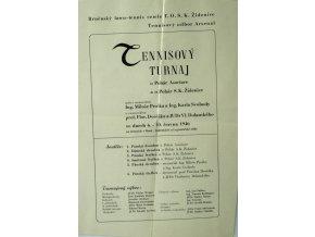Dokument, Tenisový turnaj SK Židenice, 1946 (1)