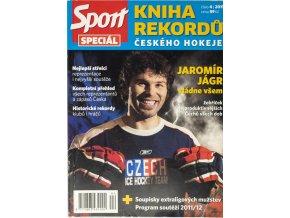 Magazín, Sport Special , kniha rekordů českého hokeje, 2011