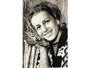 Fotografie, Věra Čáslavská, autogram (1)