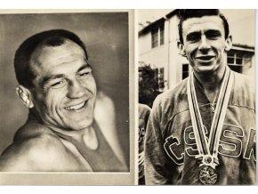 Fotografie , Sportovci , Jiří Kormaník, Hans Zdražila (1)