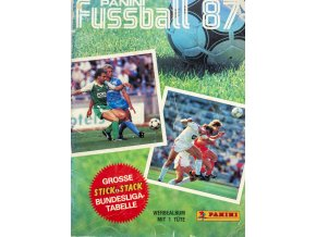 Album, Panini Fussball, 1987 (1)