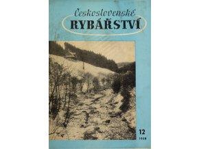 Časopis Československé Rybářství, 121958