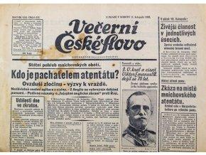 Noviny. České slovo, Pepi Bican, 1939 (2)