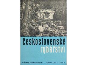 Časopis Československé Rybářství, 31961