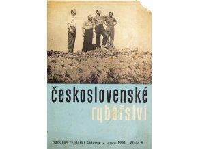 Časopis Československé Rybářství, 81961