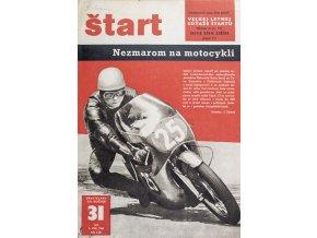 Časopis ŠTART, ročník XII, 3. VIII. 1967, číslo 31
