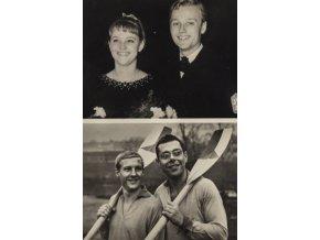 Fotografie , Sportovci ,Eva a Pavel Romanovi (1)