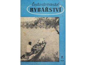 Časopis Československé Rybářství, 71959