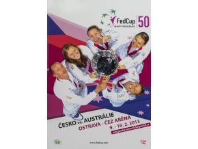 Program, Fed Cup , Česká republika v. Austrálie, 2013