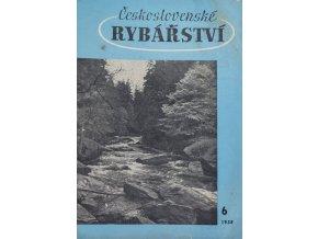 Časopis Československé Rybářství, 61958