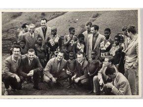 Fotografie , Ze zájezdů Slavia Praha 1956 , 33