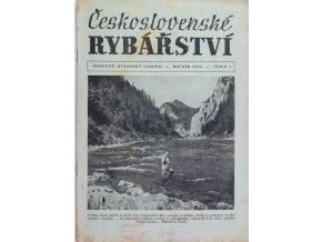 Časopis Československé Rybářství, 41956