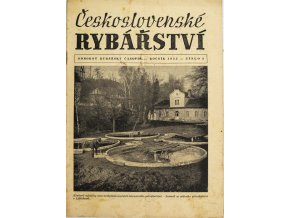 Časopis Československé Rybářství, 91955