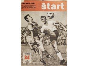 Časopis ŠTART, ročník XII, 31. VIII. 1967, číslo 35