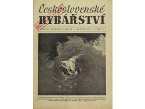 Časopis Československé Rybářství, 51956