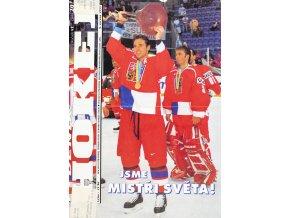Týdeník Hokej, Jsme mistry světa, 1999