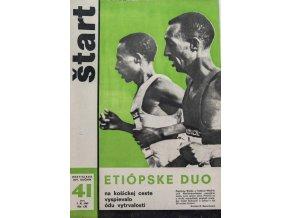 Časopis ŠTART, ročník XIV, 9. X. 1969, číslo 41