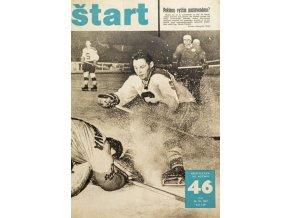 Časopis ŠTART, ročník XII, 16. XI. 1967, číslo 46