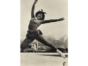 Pohlednice, Petra Burkao, ZOH 1964 Innsbruck (1)