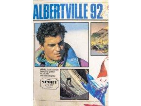 Magazín, Edice Sport Revue, ZOH Albertville, 1992