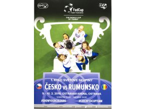 Program, Fed Cup , Česká republika v. Rumunsko, 2019