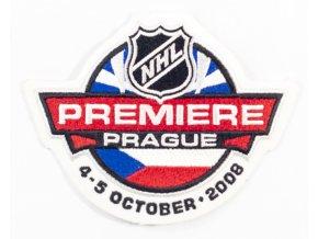 Nášivka NHL Premiere, Prague, 2008