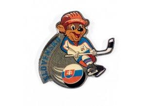 Odznak team Slovakia, hokej WCH Russia, 2007 1
