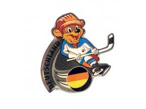 Odznak team Deutschland, hokej WCH Russia, 2007